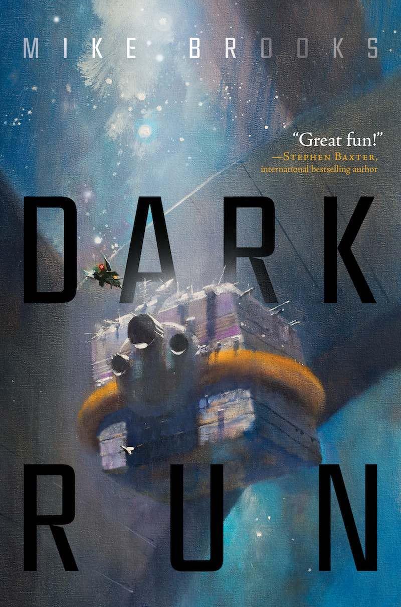 Mike Brooks Dark Run Dark Sky Dark Deeds