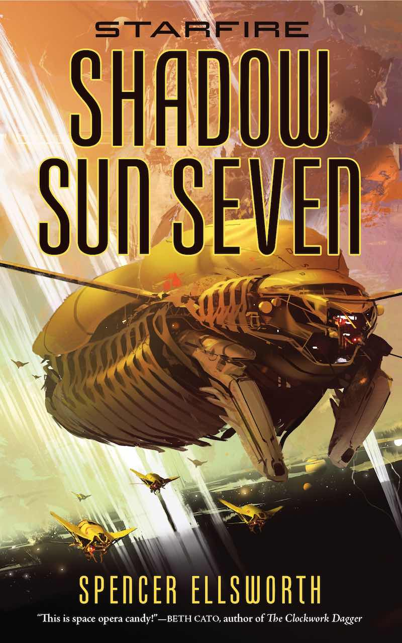 Spencer Ellsworth Starfire A Red Peace Shadow Sun Seven