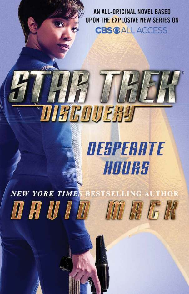 David Mack Star Trek Discovery Desperate Hours