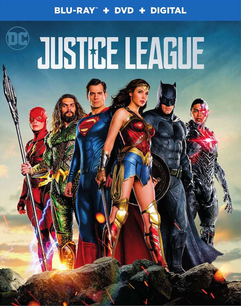 Justice League Blu-ray 4K DVD