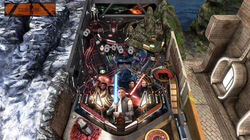Star Wars Pinball The Last Jedi Pinball FX 3 Zen Pinball
