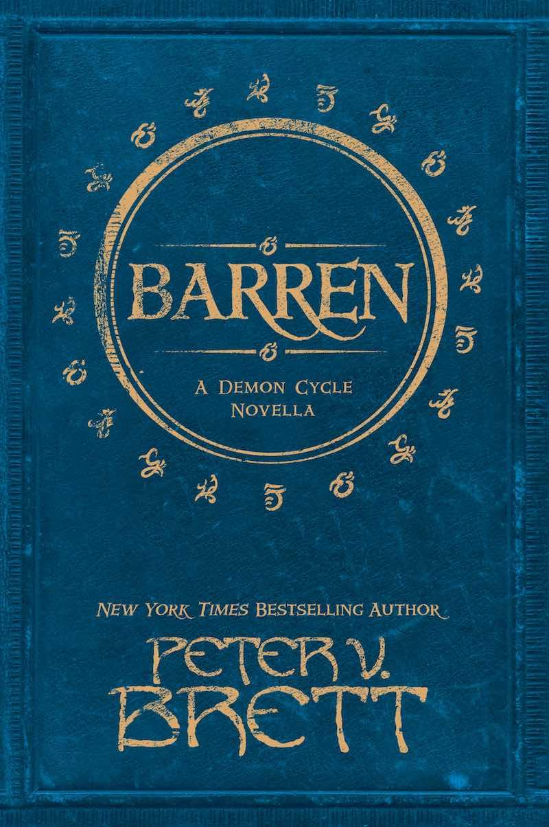 Peter V Brett Demon Cycle Barren