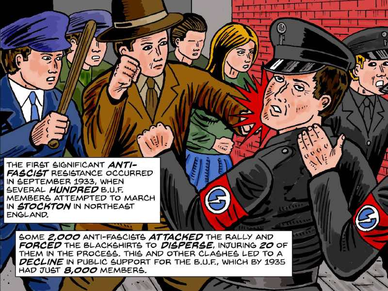 Gord Hill The Antifa Comic Book 100 Years Of Fascism And Antifa Movements