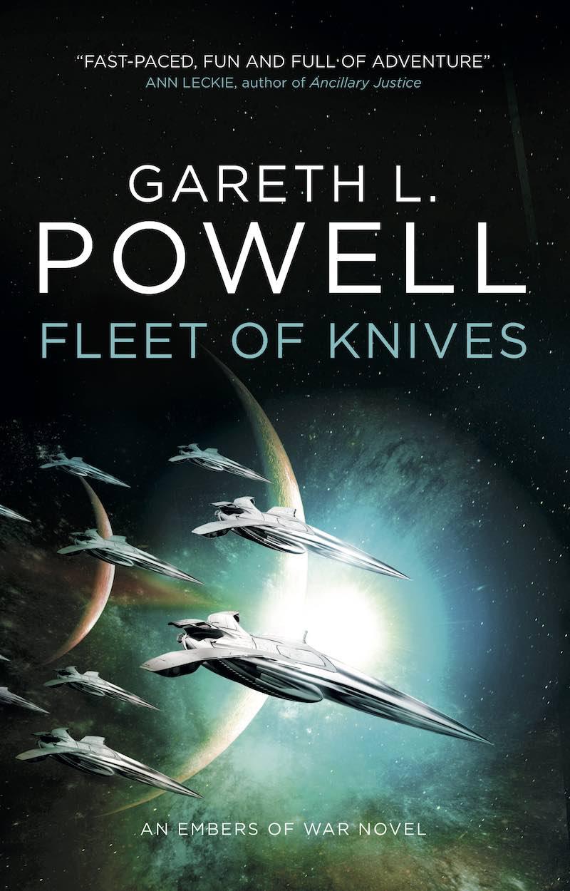 Gareth L. Powell Embers Of War Fleet Of Knives