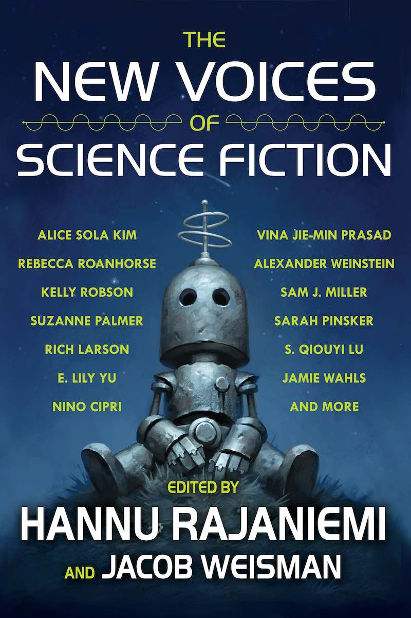 Hannu Rajaniemi Jacob Weisman The New Voices Of Science Fiction
