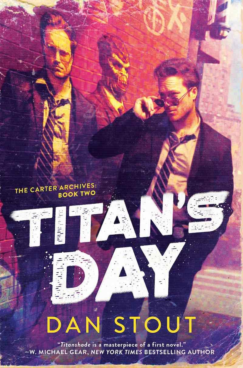 Dan Stout Titan's Day Titanshdade The Carter Archives