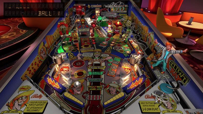 Williams Pinball Volume 6 Pinball FX3 Dr. Dude And His Excellent Ray