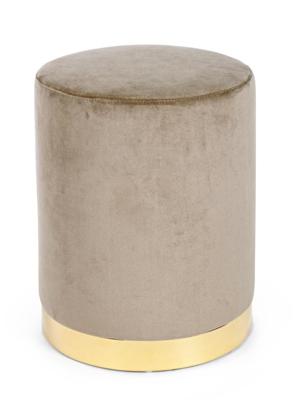 PAUL'S HOME Bizzotto Pouf Taupe