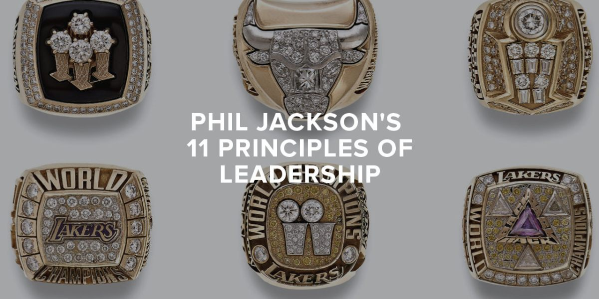Phil Jackson's 11 Principles of Leadership