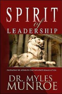 Spirit Of Leadership-myles-munroe