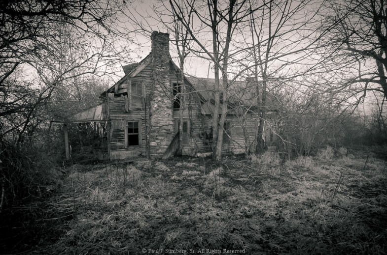 Long forgotten farmhouse in Blairsville GA