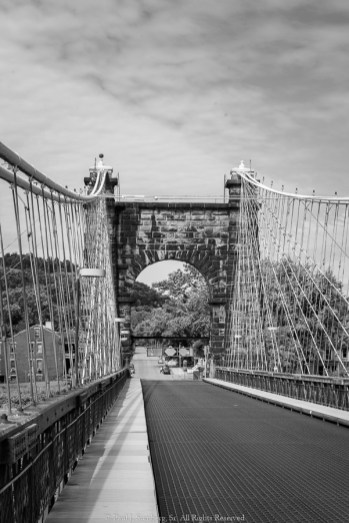 Old bridge to Wheeling Island
