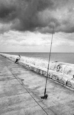 Angler, Kalk Bay Harbour, 2009
