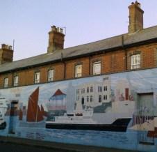 Maritime mural