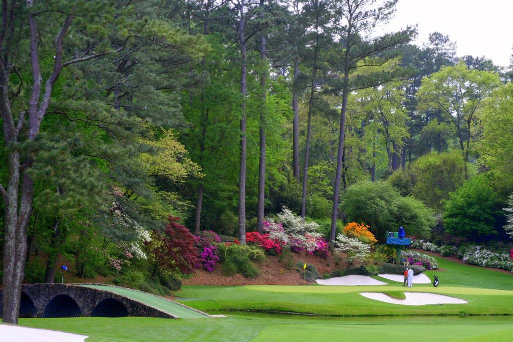 Augusta's 12th green
