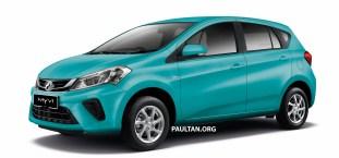 2018 Perodua Myvi 1.3 Standard G Peppermint Green