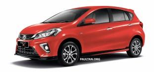 2018 Perodua Myvi 1.5 Advance Lava Red
