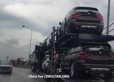 G01-BMW-X3-trailer-spotted-Malaysia-1
