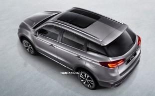 Proton X70 SUV 4 - Light Grey