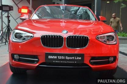 F20 BMW 125i Sport 8