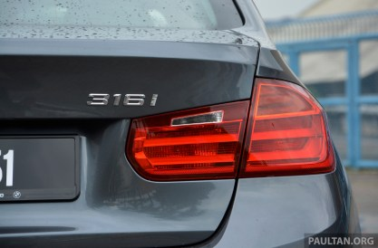 DRIVEN: 2013 BMW 316i - offering a new level of entry