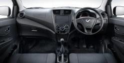Perodua Axia E dashboard