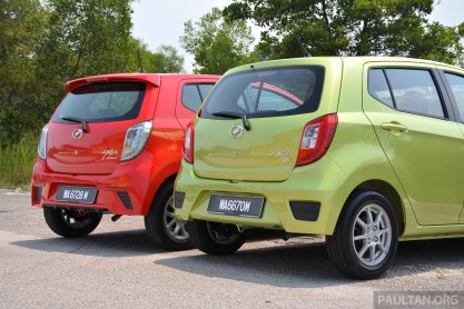 GALLERY: Perodua Axia Standard G vs Axia Advance
