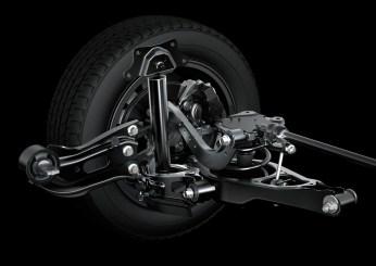 2015 Toyota Alphard_014-Alphard double-wishbone rear suspension