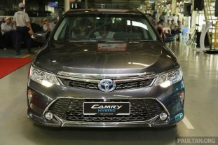 Toyota Camry Hybrid Line Off 41