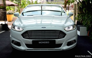 2015 Ford Mondeo MY preview 5