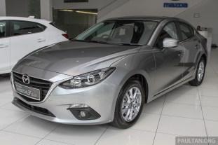 Mazda 3 Sedan Mid Spec 2