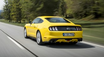 Ford Mustang Fastback Euro 07