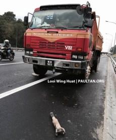 Lorry driveshaft 01