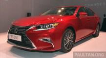 Lexus ES Facelift 2