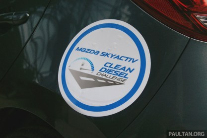 Mazda 2 SkyActiv-D Clean Diesel Challenge 1