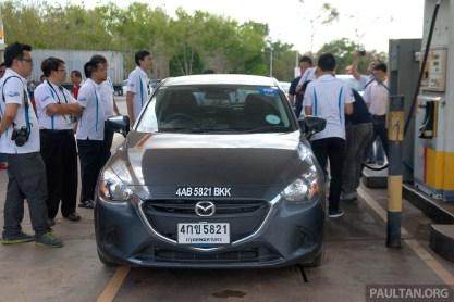 Mazda 2 SkyActiv-D Clean Diesel Challenge 12
