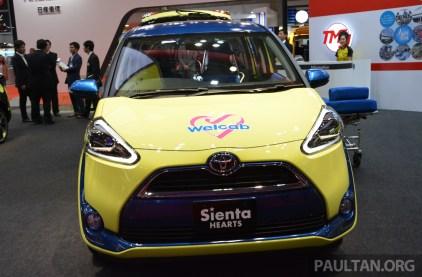 Toyota Sienta Hearts TMS-7