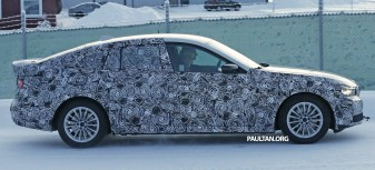BMW 5 Series GT next-gen spyshot 5
