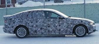 BMW 5 Series GT next-gen spyshot 5