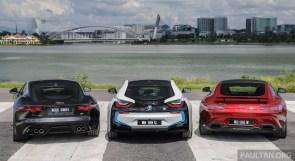 BMW i8 vs Mercedes-AMG GT S vs Jaguar F-Type R Malaysia 005