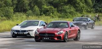 Driven Bmw I8 Vs Mercedes Amg Gt S Vs Jaguar F Type R
