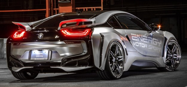 Bmw I8 Receives Energy Motor Sport Bodykit Package