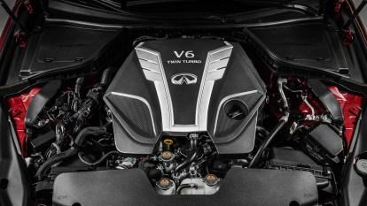 Infiniti's new 3.0-liter V6 twin-turbo engine