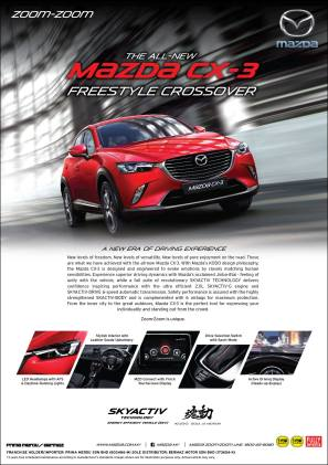 Mazda CX-3 Malaysian brochure