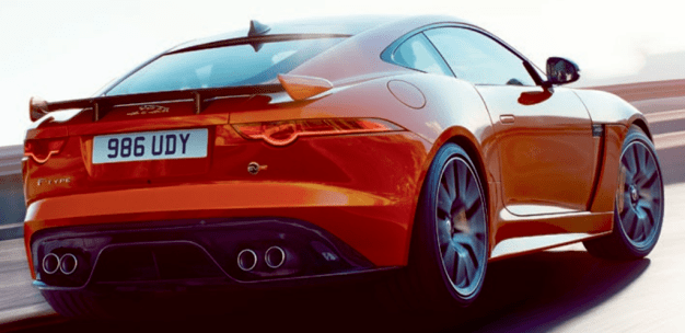 Jaguar F-Type SVR brochure leak-7