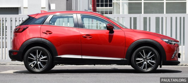 Mazda CX-3 2.0L review 7