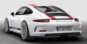 2017 Porsche 911 R leak 5