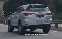 Toyota Fortuner Spyshots Tanjung Malim-04