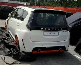 p2 alza concept rear