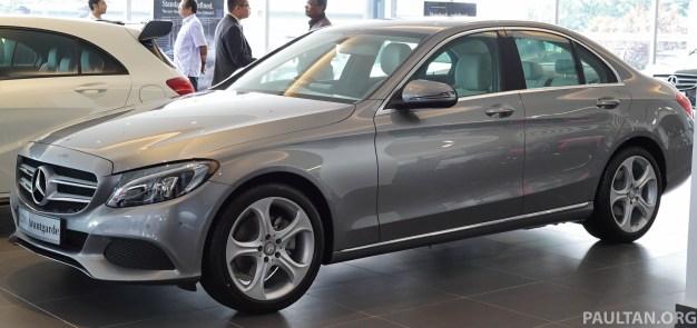 Tech Spec Of  Mercedes C Kompressor